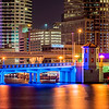 Platt Street Bridge - Tampa, Fl - Large Panorama