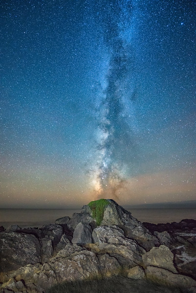 Milky Way Volcano, Sea Ranch, California