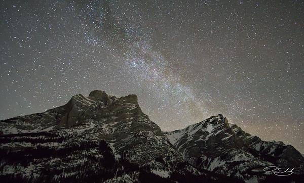 Milky Way at Mt. Kidd