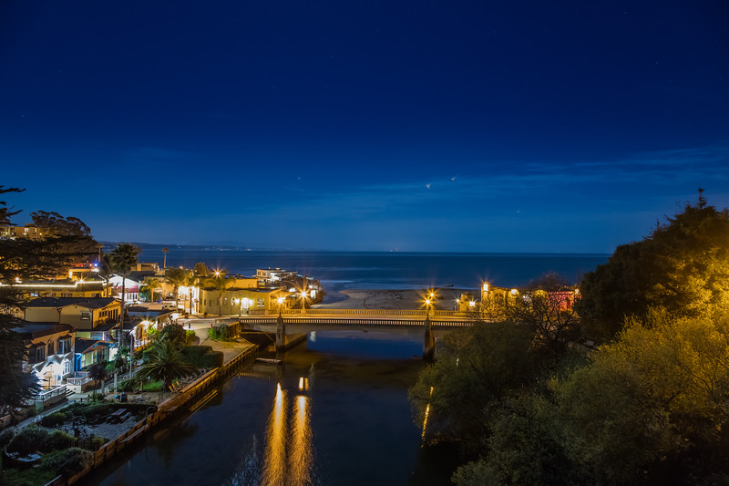 Capitola Night Reflections 5
