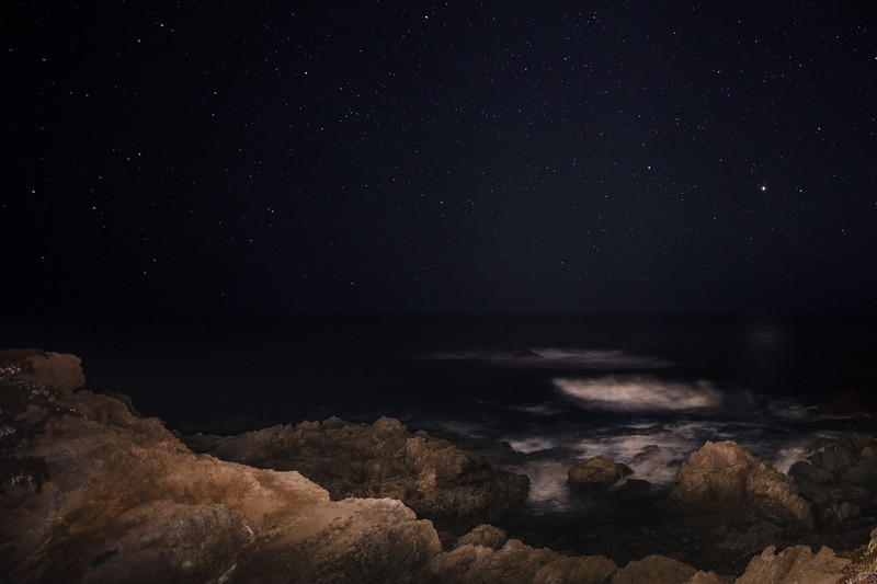 Starry Sky at Big Sur 1