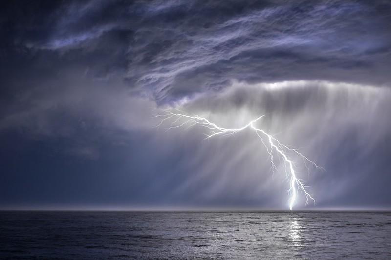 Lightning Storm, Study # 4, Sea Ranch, California