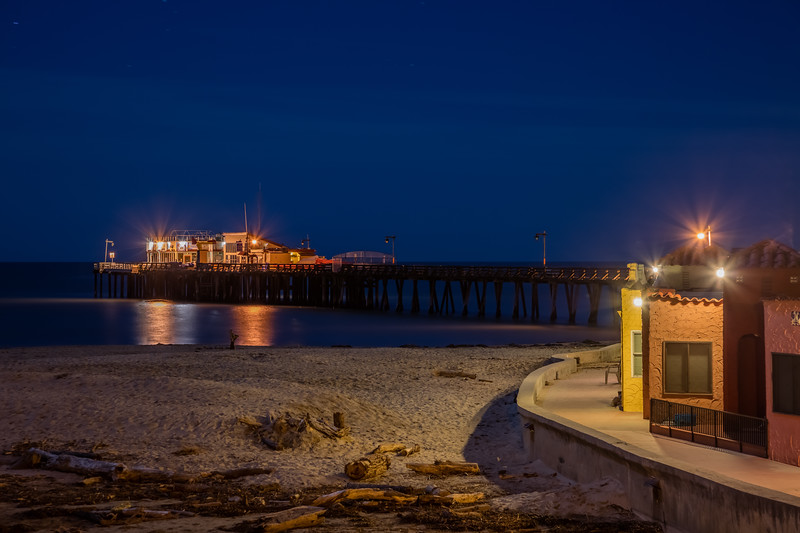 Peaceful Night at Capitola Beach 1