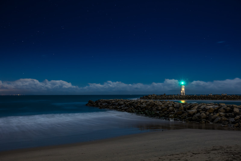 Night Time at Twin Lakes Beach