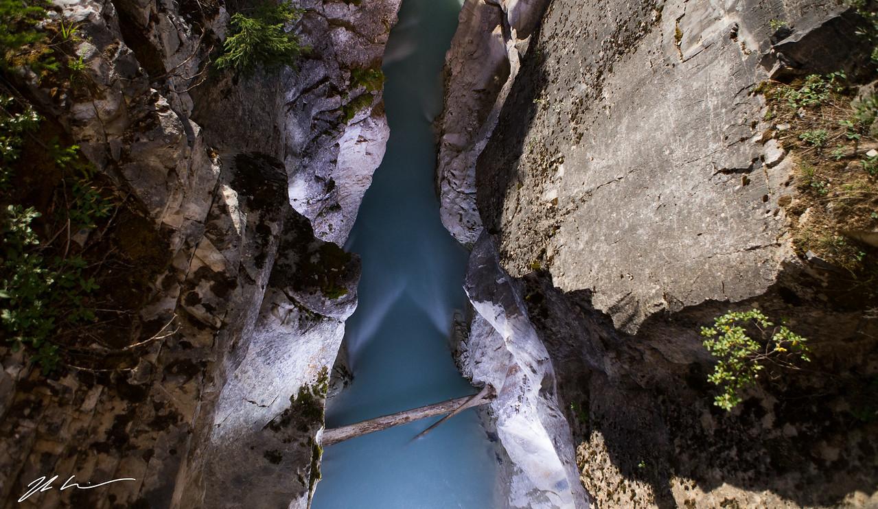 Marble Canyon, East Kootenay National Park