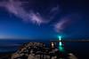 Stars Over the Harbor Jetty 1