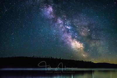 Milky Way over Kalispell Island, Priest Lake, Idaho
