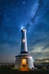 Point Arena Lighthouse & Milky Way