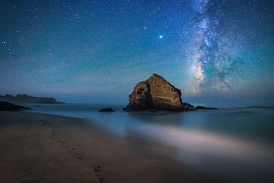St Orres Beach & Milky Way, Gualala, California