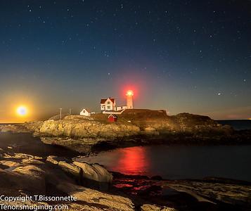 Nubble Lighthouse Shines