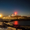 Nubble Lighthouse Shines