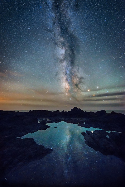 Cosmic Tide Pool. Sea Ranch, Califronia
