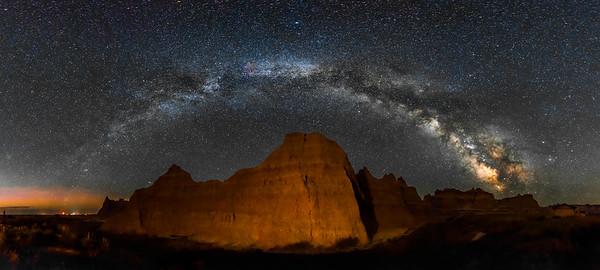 Badlands NP Milky Way 1.6