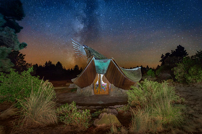 Night Chapel, Sea Ranch, California