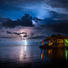 Lightning Storm in the Gulf of Mexico...