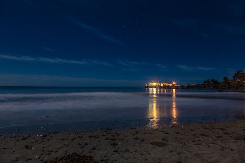 Peaceful Night at Capitola Beach 2