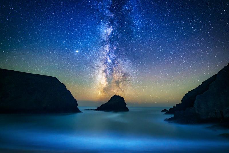 Hearn Gulch & Milky Way, Study 2, Gualala, CA