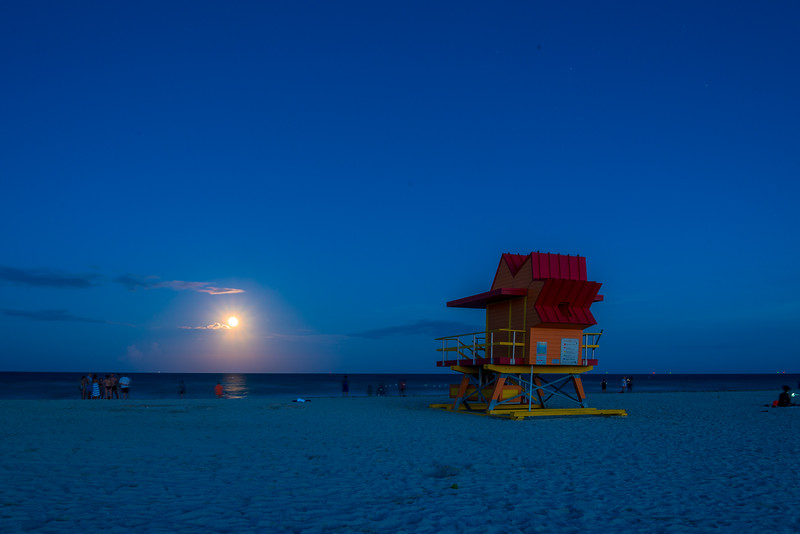 South Beach Moonlight II