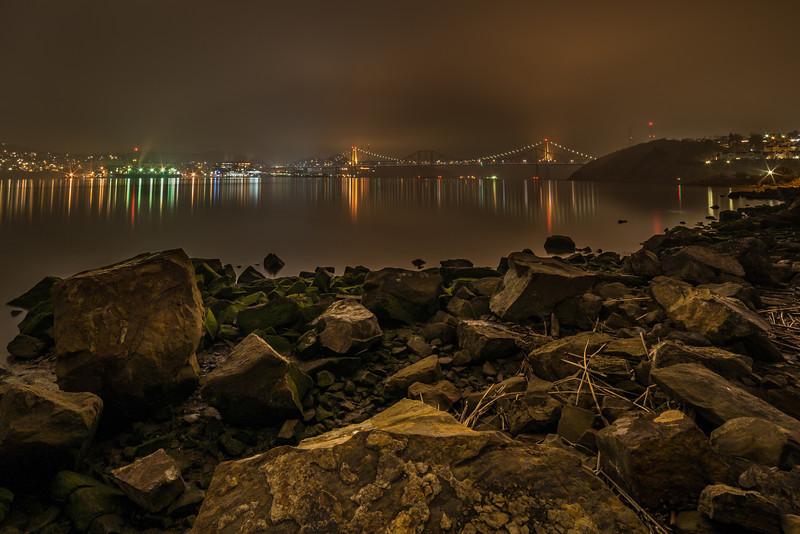 Strait Fog & Drizzle