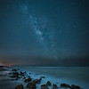 The Milky Way over Caspersen Beach near South Venice, Florida