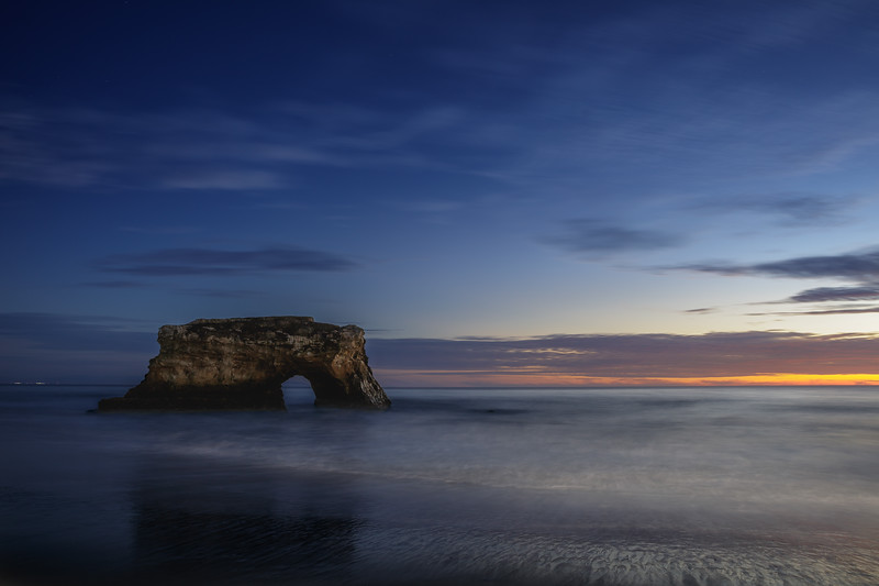 Sunset Dreams at Natural Bridges Beach 1