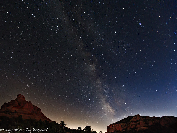 Bell Rock and The Milky Way