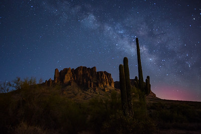 Saguaro Milky Way