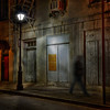 Night Walker in the French Quarter, New Orleans