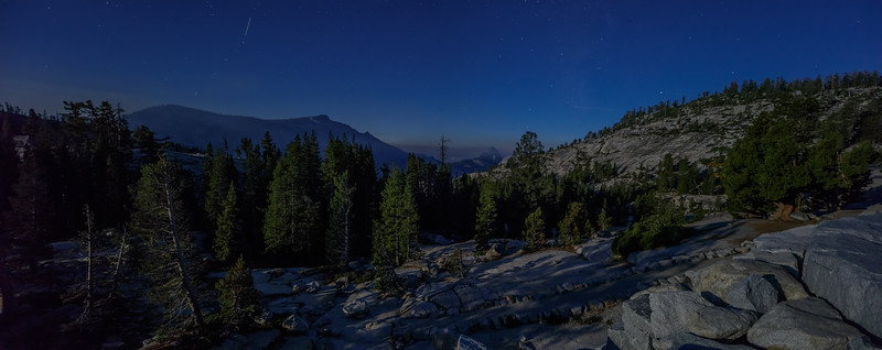 Moonlit Olmsted Point View