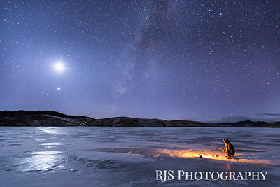 Celestial Ice Fishing