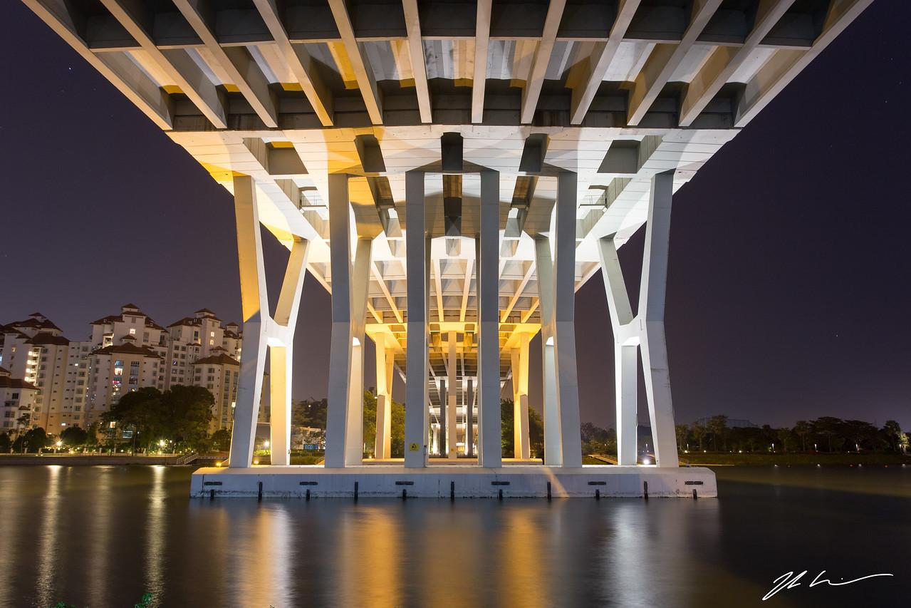 Benjamin Sheares Bridge, Singapore