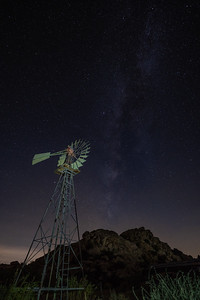 Windmill at Keys Ranch, Joshua Tree National Park