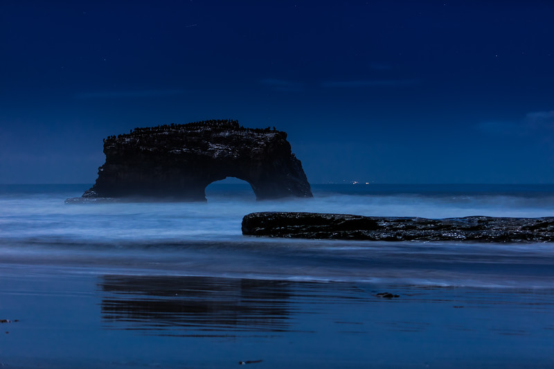 Night Reflections at Natural Bridges 1