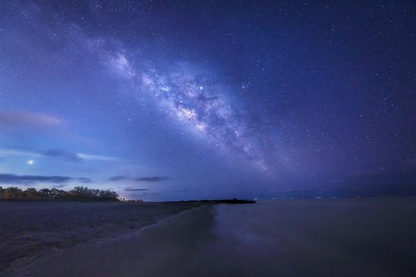 Venus Beach Florida >> Night Photography Diana Robinson Photography