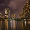 Waikiki Evening Reflections