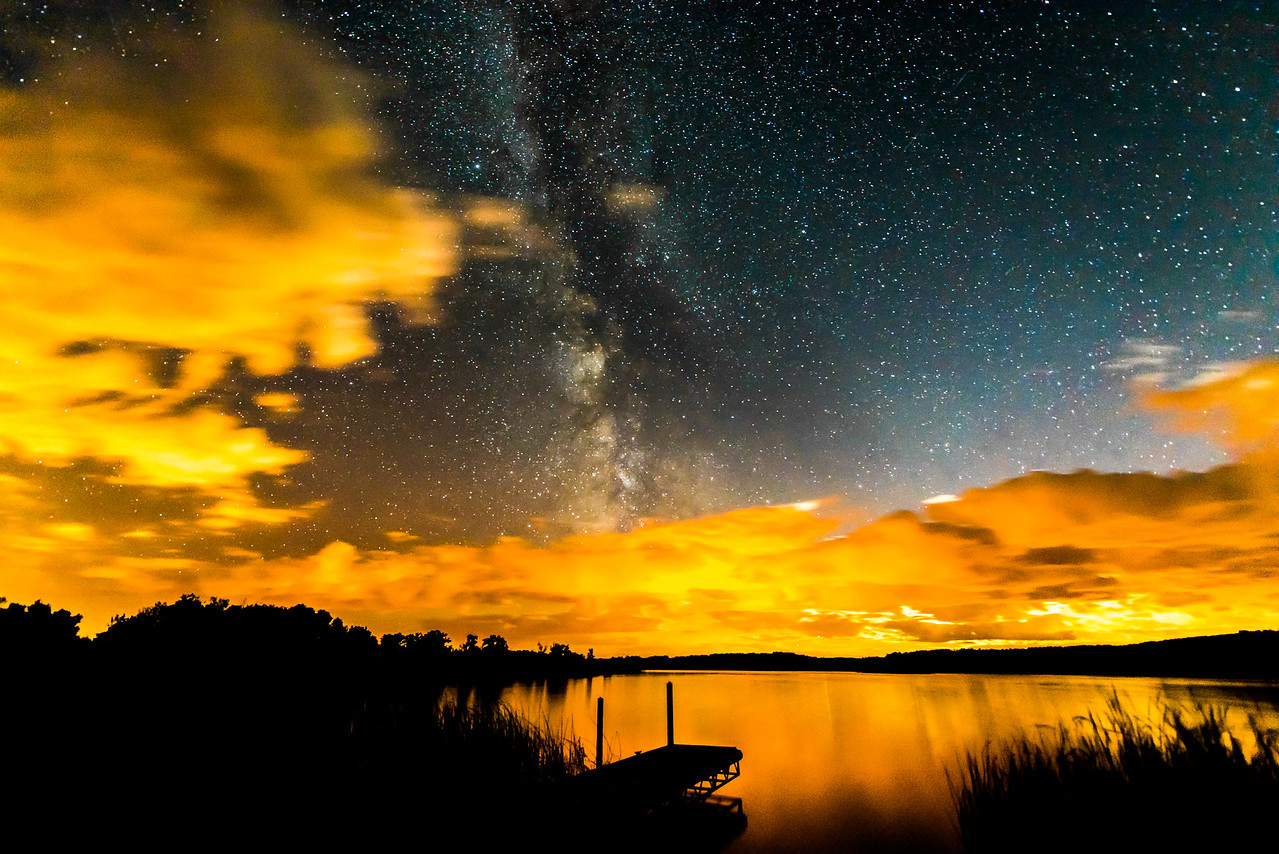 Dion Lake Milky Way