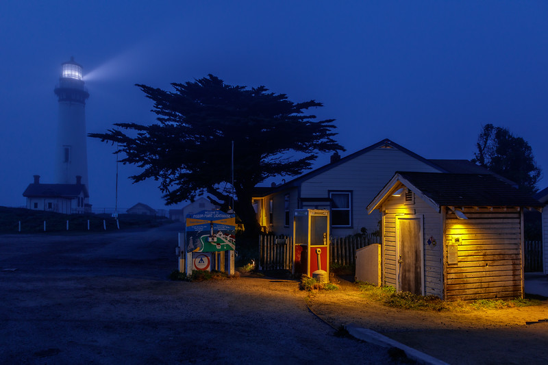 Pigeon Point Night Shot