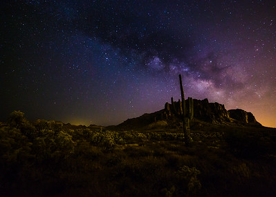 Saguaro Milky-way