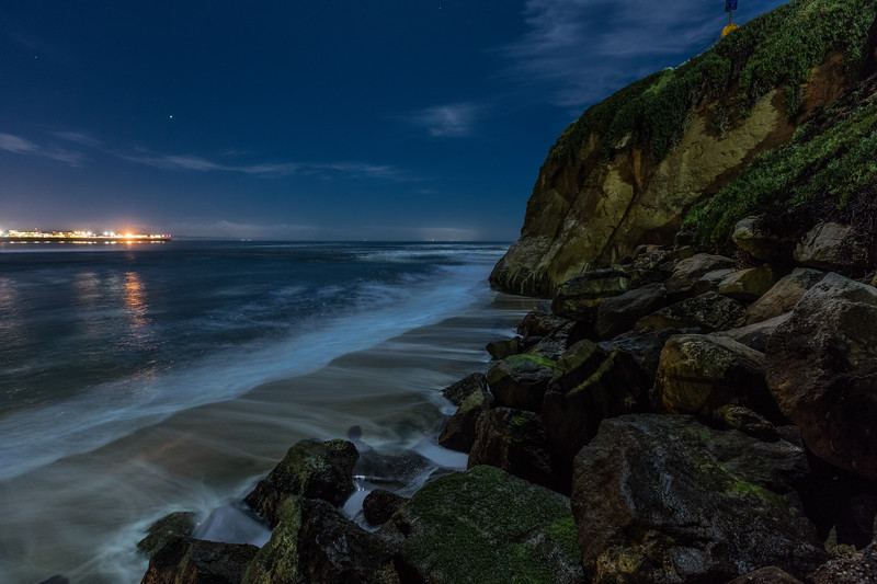 Cowell's Beach Night Scene