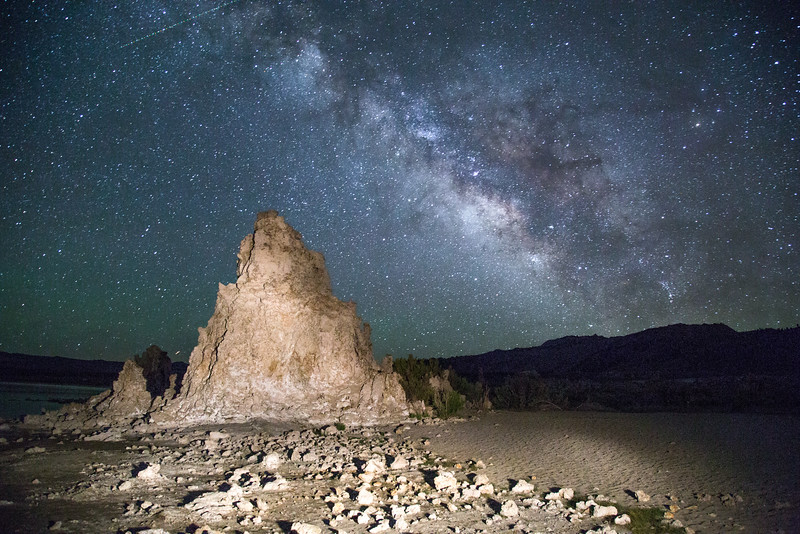 Milky Way Over Mono Lake