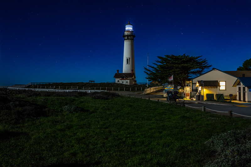 Nighttime Lighthouse 1