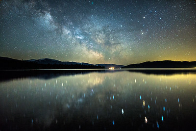 Priest Lake Milky Way Reflection