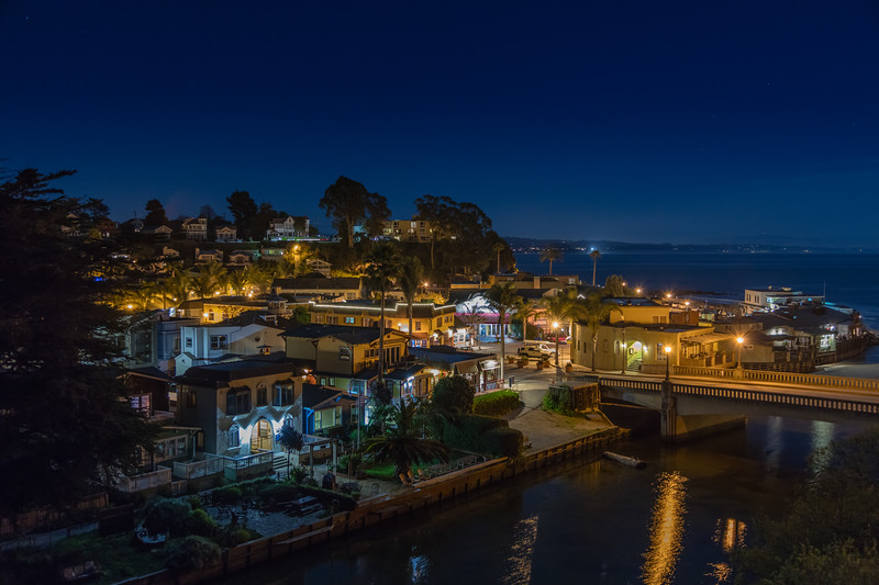 Capitola Night Reflections 4