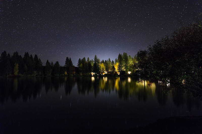 Graeagle Mill Pond Night 3