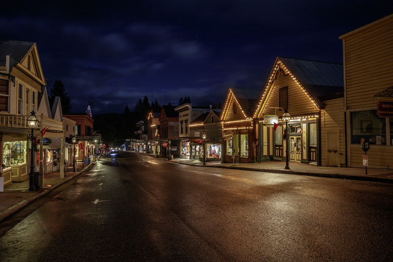 Nevada City Before Dawn