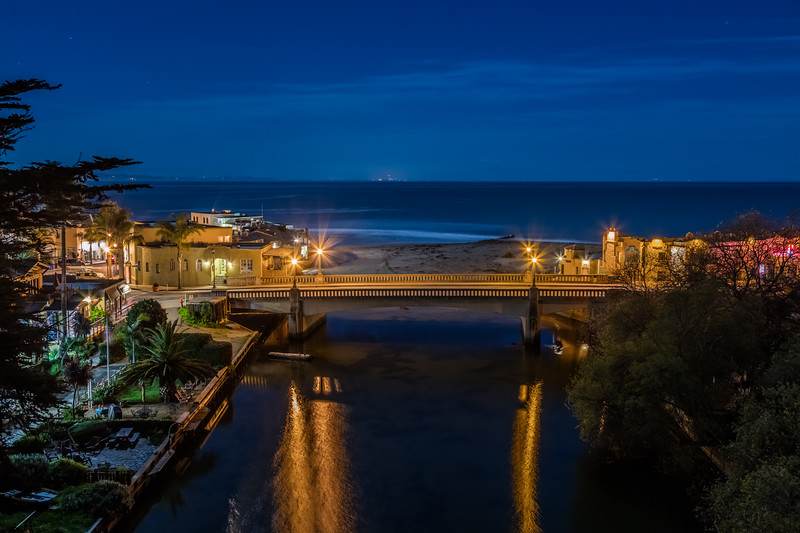 Capitola Night Reflections 1