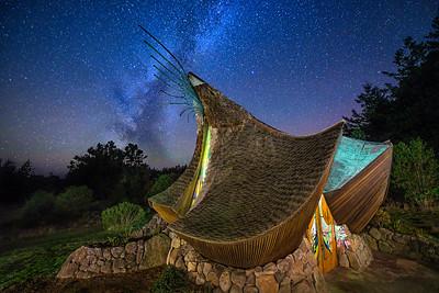 Milky Way & Sea Ranch Chapel