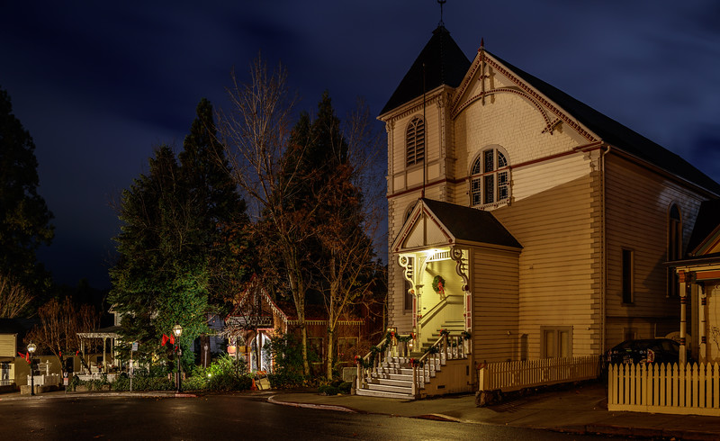 Christmas at Nevada City