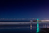 Night Reflections at Twin Lakes Beach 1