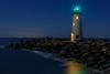 Walton Lighthouse Night Reflections 2